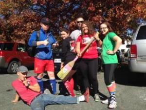 RH3 is missing their paddle! The Harlot's have stolen it again!